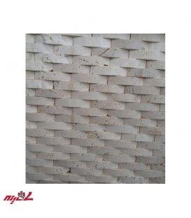 سنگ آنتیک پروفیل 2.5*10 آجری سفید