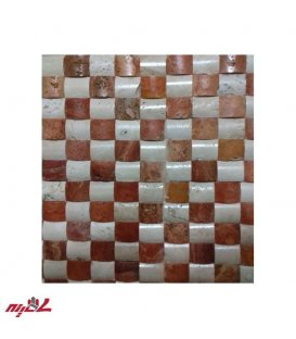 سنگ آنتیک پروفیل شطرنجی سفید،قرمز