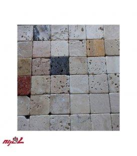 سنگ آنتیک تامبل 5*5 رنگی