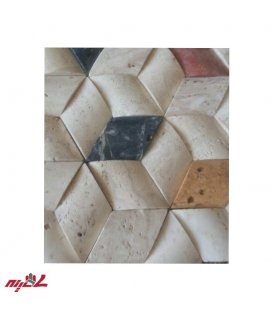 سنگ آنتیک پروفیل هرمی رنگی