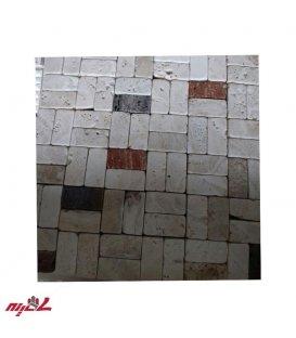 سنگ آنتیک تامبل میکس رنگی