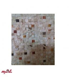 سنگ آنتیک گیوتین 2.5*2.5 میکس رنگی