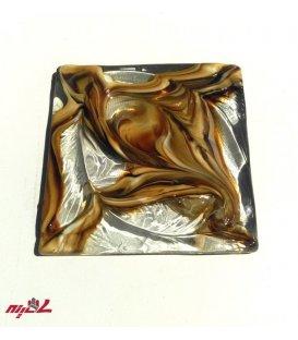 پازل شیشهای سه پوست قهوهای لیانا
