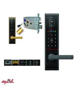 دستگیره دیجیتال با اثر انگشت میلره مدل MI-6800
