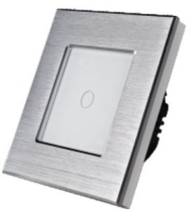 کلید لمسی آلومینیومی