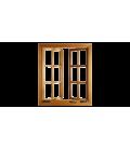پنجره چوبی