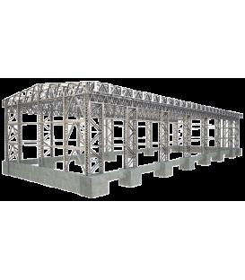 سازه فولادی-اسکلت فولادی